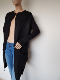 Vest Selected Femme. Mt. S. Zwart/wol.