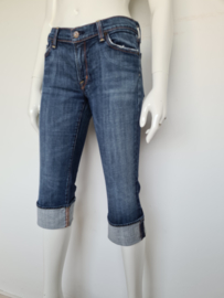Citizen of Humanity low waist cropped jeans. Mt. 31. Blauw.
