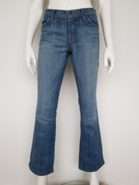 Citizens of Humanity low waist flair denim. Mt. 30. Blauw.