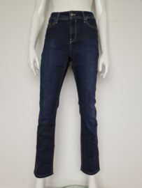 Claudia Sträter skinny fit jeans. Mt. 42. Donkerblauw.