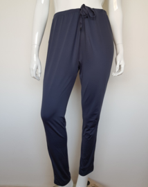 Pantalon Sylver. Mt. 46. Blauw/ streep.