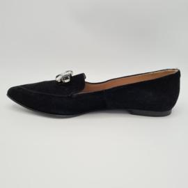 Ceia loafers. Mt. 41. Zwart/suède.