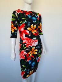 Vintage Chic jurk. Mt. XL. Bloemenprint.