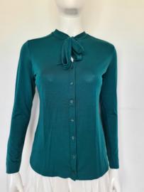 Claudia Sträter blouse. Mt. 38. Groen.