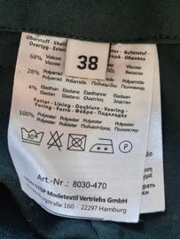 Malvin pantalon. Mt. 38. Donkergroen.