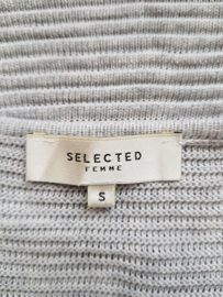 Vest Selected Femme. Mt. S. Lichtgrijs