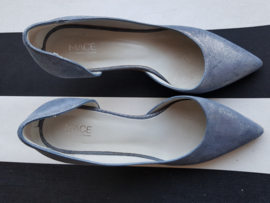 Pumps Mace. Mt. 36. Blauw metallic.