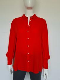 Aaiko blouse. Mt.S. Helderrood.