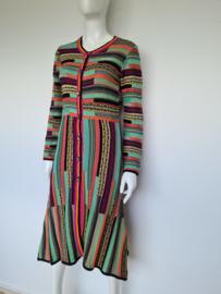 Himalaya organic maxi dress. Mt. S. Multi color.