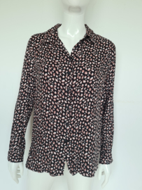 Circle of Trust blouse. Mt. M. Zwart/print.