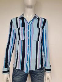 Samsoe & Samsoe blouse. Mt. 38. Gestreept.