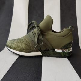Sneakers van Dalen. Mt. 39. Groen.