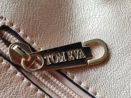Tom & Eva schoudertas (groot en klein model). Metallic.