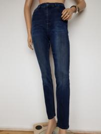 High rise skinny jeans Scotch & Soda. Mt. 30/32. Blauw.