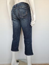Citizen of Humanity low waist capri jeans. Mt. 29. Blauw.