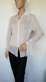 Blouse A-rticles. Mt. 38. Off white.