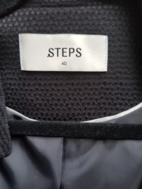 Cropped blazer Steps. Mt. M. Zwart.