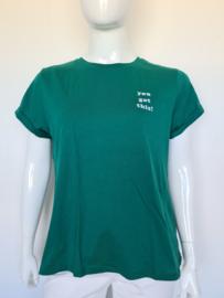 Catwalk Junkie shirt. Mt. XL. Groen.