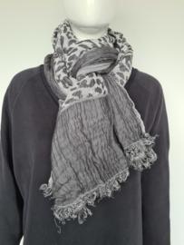 10Days shawl. Dierenprint
