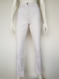 Jeans Betty Barclay. Perfect Slim. Mt. 38. Wit.