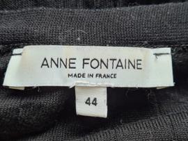 Anne Fontaine vest. Mt. 38. Zwart.