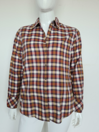Emily van den Bergh blouse. Mt. 42. Geruit.