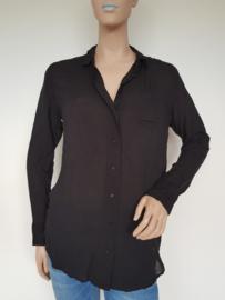 Oversized blouse Denham. Mt. XS. Zwart.