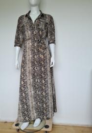 Ambika maxi dress. Mt. XL. Dierenprint.