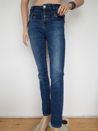 High Rise jeans Nick Jean. Mt. 29/32. Blauw.