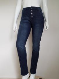 Jeans MAC Laxy. Mt. 38/28. Donkerblauw.