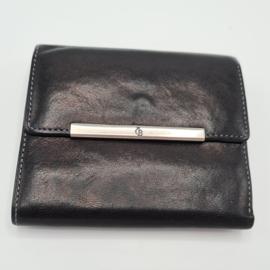 Castelijn & Beerens portemonnee. Zwart/leer.