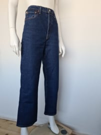 Levi's ribcage straight ankle jeans. Mt. 30. Blauw.