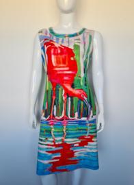 L & C (Lizzy & Coco) reversible jurk. Mt. XXL.