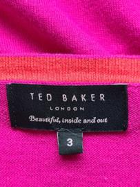 Ted Baker bolero vestje. Mt. 3. Fuchsia.