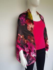 Ted Baker shawl/omslagdoek. Roze/bloemenprint.