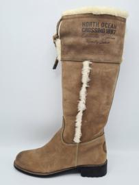 Gaastra boots. Mt. 38. Lichtbruin/vacht.