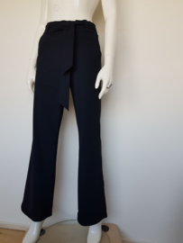 Studio Anneloes pantalon. Mt. 38. Navy/travelstof.