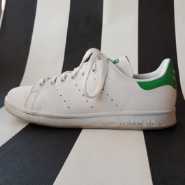 Sneakers Adidas. Stan Smith. Mt. 41. Wit/groen.