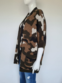 Essentiel Antwerp vest. Mt. S. Camouflage