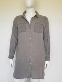 Object blouse. Mt. XL. Grijs.