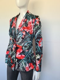 Guess blazer. Mt. M. All over print.