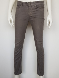 7 For All Mankind ankle skinny. Mt. 26. Grijs.