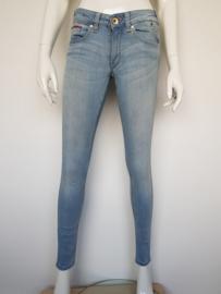Hilfigger Denim jeans. Sophie skinny. Mt. 27/30. Lichtblauw.
