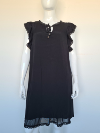 MAT Fashion jurk. Mt. 42. Zwart