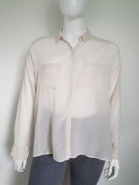 Zijden blouse Drykorn. Mt. 42. Crème.