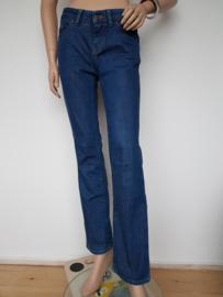 Boss Orange Straight Fit jeans. Mt. 27/32. Blauw.