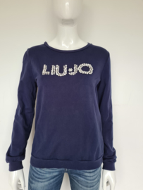 Liu Jo sweater. Mt. S. Donkerblauw.