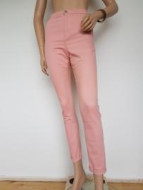 Ankle jeans Denim & Co. Mt. 40. Roze.