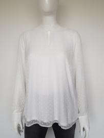 Comma blouse. Mt. 42. Wit.