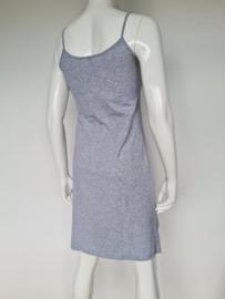 Zusss spaghetti jurk. Mt. 2. Grijs.
